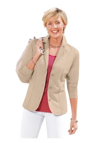 Casual Looks Jersey - Blazer trageangenehm und überzeugend pflegeleicht kaufen