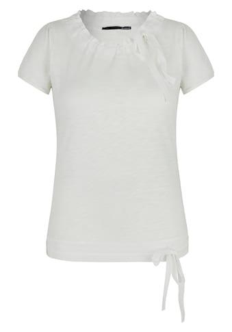 LeComte Shirt mit Raffungen und Bändchen kaufen