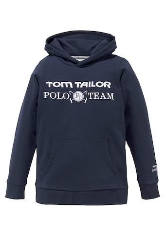 TOM TAILOR Polo Team Kapuzensweatshirt, mit Stickereien kaufen