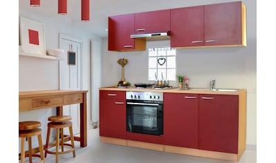 Küchenzeile »Basic«, ohne E - Geräte,  Breite 210 cm kaufen