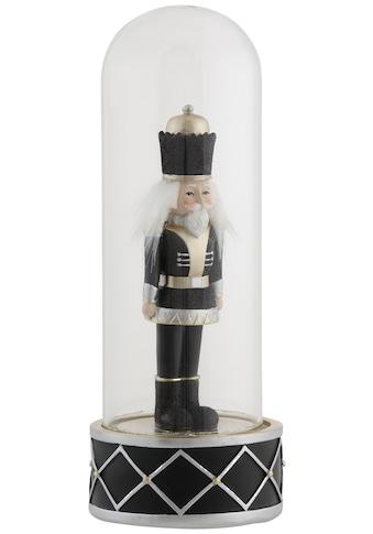 Dekofigur »Nussknacker«, in Glaskuppel, Höhe ca. 26 cm kaufen