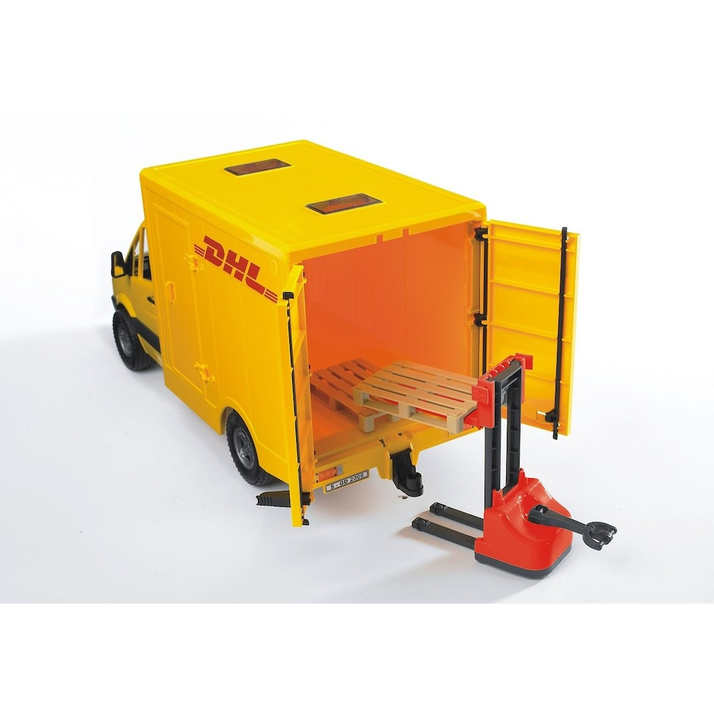 Bruder® Spielzeug-Auto »Mercedes Benz Sprinter DHL«, Made in Germany