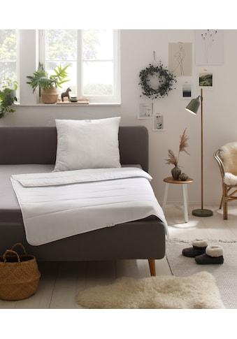 Älgdröm Kunstfaserbettdecke »Nisser«, leicht, Füllung Polyesterfaser, Bezug 100% Polyester, (1 St.), mit hervorragendem Wärmeverhalten kaufen