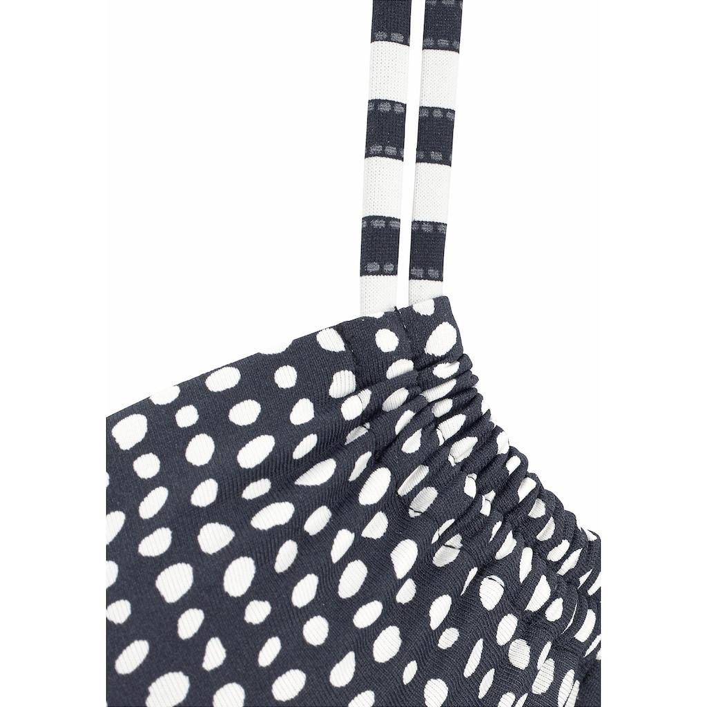 s.Oliver Bügel-Bikini, im angesagten Mustermix