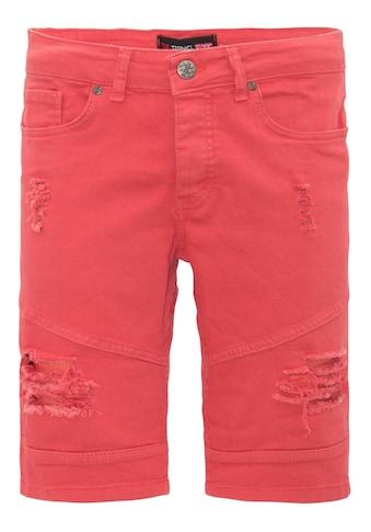 Daniel Daaf Shorts, mit Destroyed Effekten kaufen