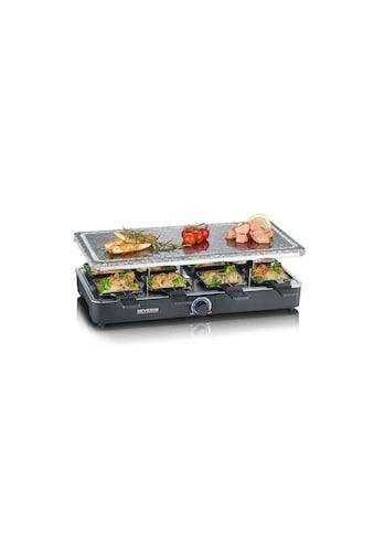 Severin Raclette »RG 2372«, 8 St. Raclettepfännchen, 1400 W kaufen