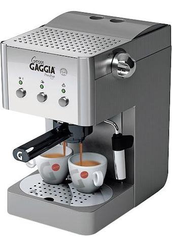 Gaggia Siebträgermaschine Gran Gaggia Prestige kaufen