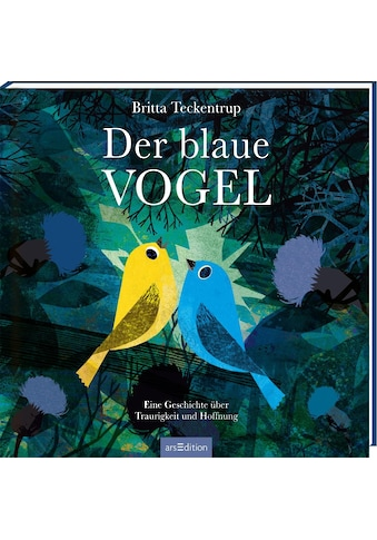 Buch »Der blaue Vogel / Britta Teckentrup, Britta Teckentrup« kaufen