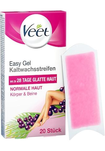 Veet Kaltwachsstreifen »Easy-Gelwax«, für normale Haut kaufen
