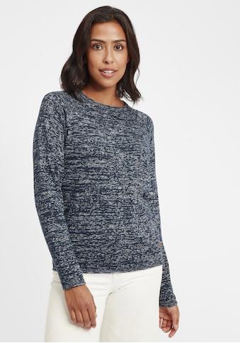 OXMO Strickpullover »Daniela«, Oversize-Pullover in Loch-Strick Optik kaufen