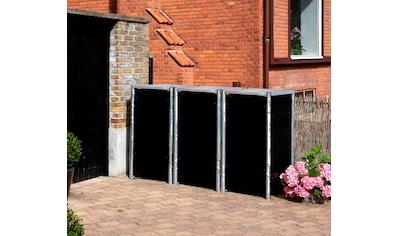 Hide Mülltonnenbox, für 3 x 120 l, schwarz kaufen