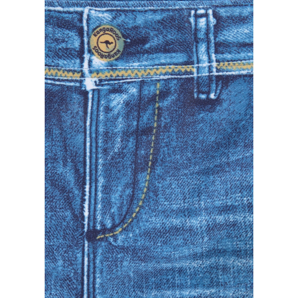 KangaROOS Bikini-Hotpants, in Jeans-Optik