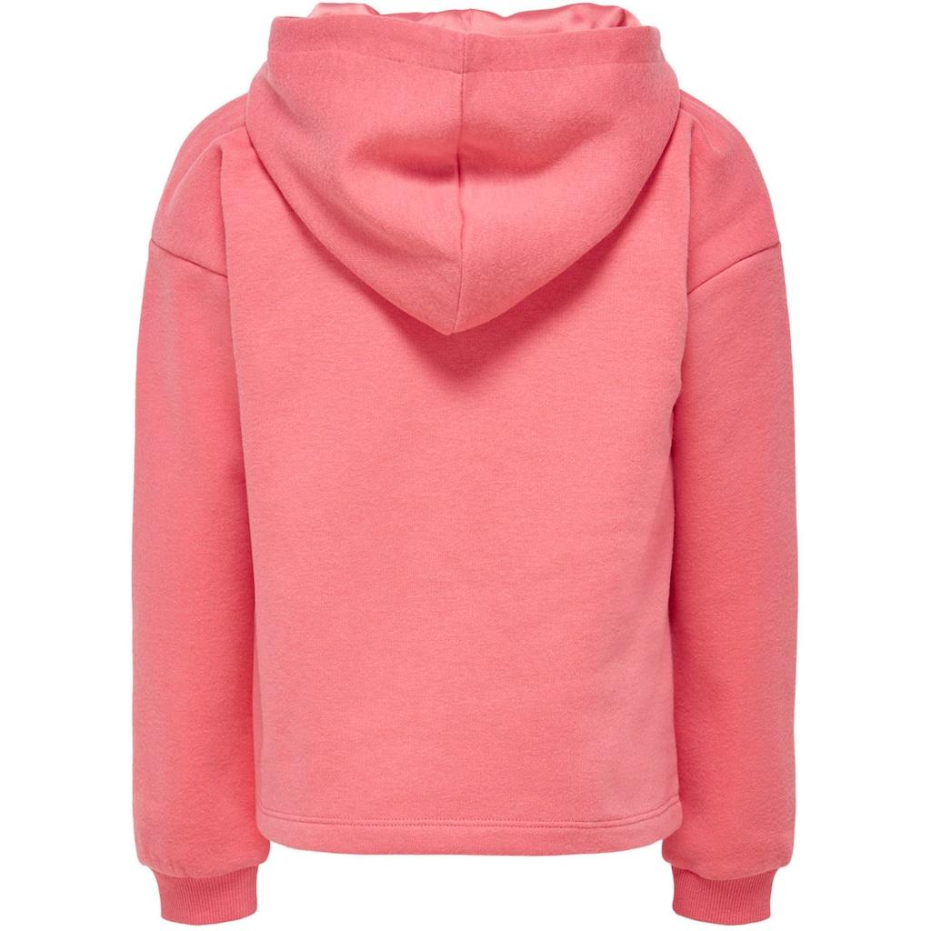 KIDS ONLY Kapuzensweatshirt »KONWENDY«, ohne Bündchen am Saum