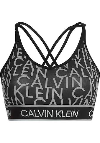 Calvin Klein Performance Sport-Bustier »LOW SUPPORT BRA«, mit Trägern für geringe... kaufen