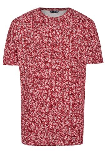 Daniel Hechter DH-XTENSION T-Shirt mit all over Druck kaufen