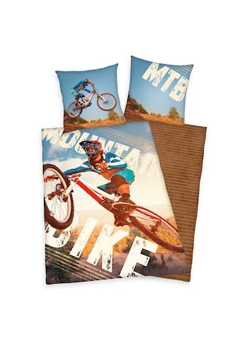 Herding Wendebettwäsche »Mountainbike, Baumwoll-Renforcé« kaufen