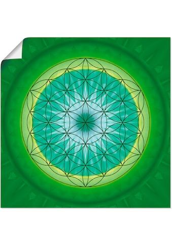 Artland Wandbild »Blume des Lebens 3«, Muster, (1 St.), in vielen Größen &... kaufen