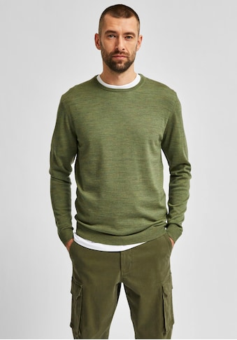SELECTED HOMME Rundhalspullover »TOWER NEW MERINO CREW NECK« kaufen