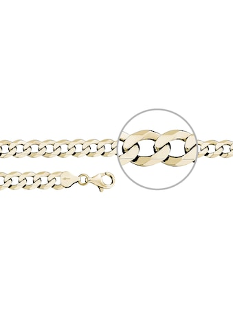 Der Kettenmacher Silberarmband »Panzerarmband diamantiert, P6-S, P6-G« kaufen