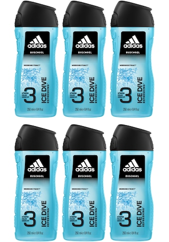 "adidas Performance Duschgel ""Ice Dive 3in1"", Spar - Set 6 - tlg. kaufen"