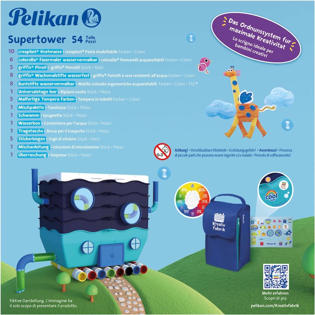 Pelikan Kreativset »Kreativfabrik - Supertower«, Inklusive Tragetasche, Made in Germany