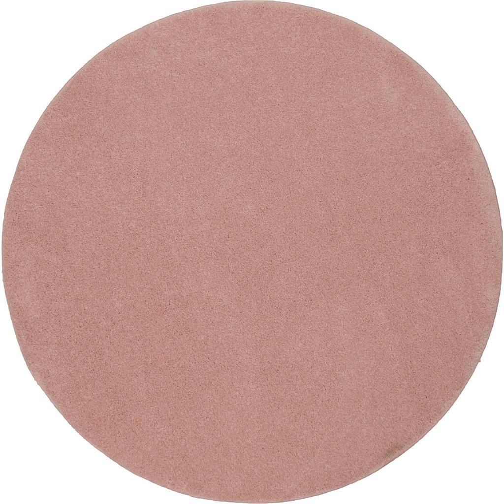 merinos Teppich »Montana«, rund, 20 mm Höhe, Wohnzimmer