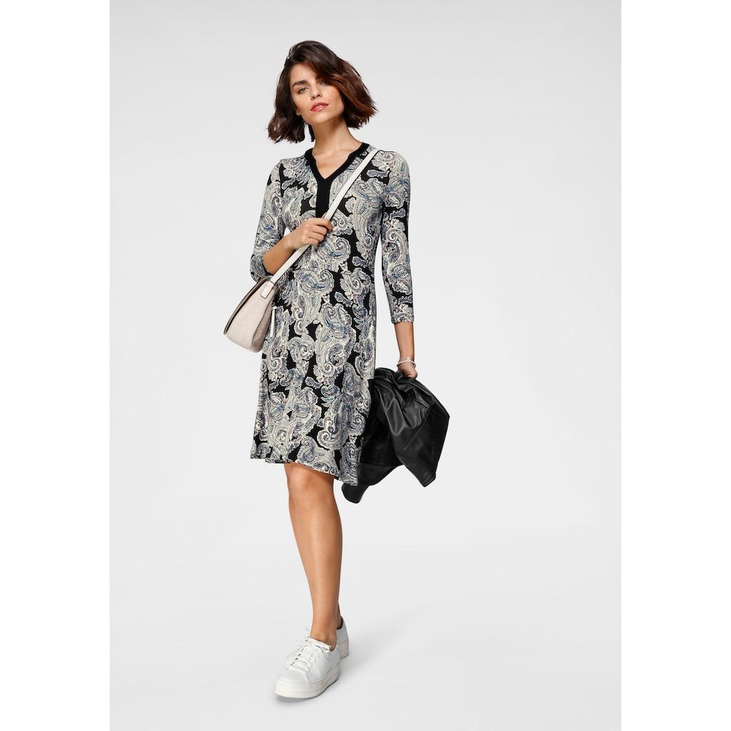 Tamaris Jerseykleid, mit Paspelierung