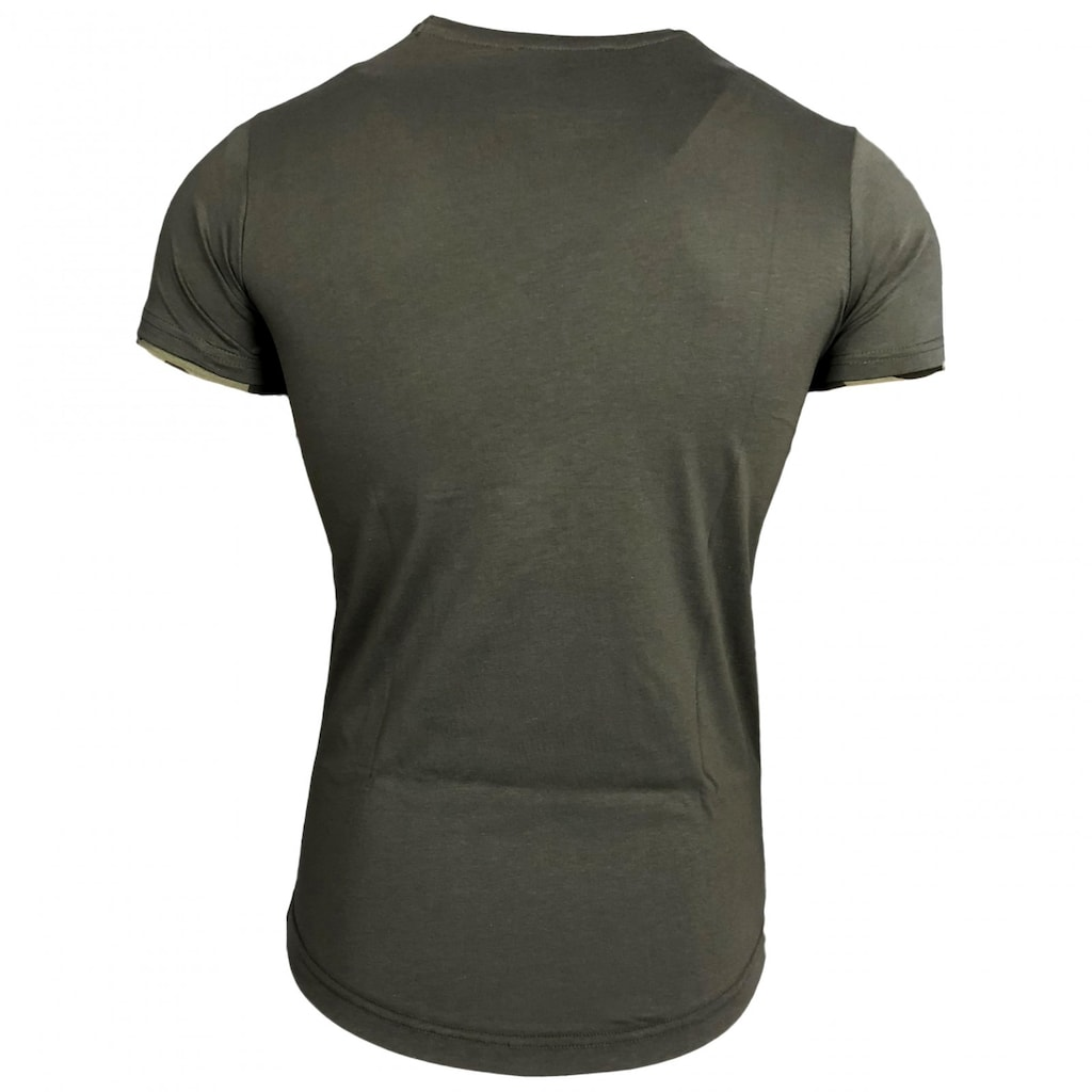 Rusty Neal T-Shirt mit coolen Cutouts