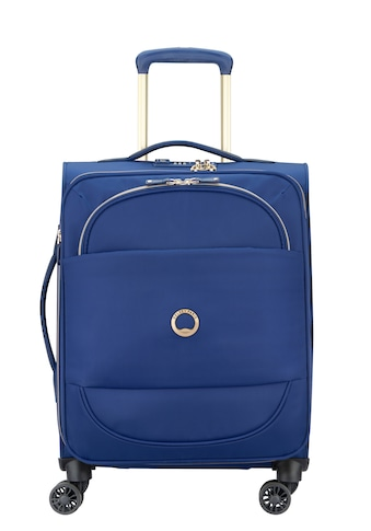 """Delsey Weichgepäck - Trolley """"Montrouge, 55 cm, Blue"""", 4 Rollen kaufen"""