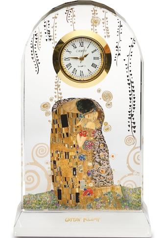"""Goebel Tischuhr »Artis Orbis  -  Gustav Klimt  -  """"Der Kuss"""", 66522511« kaufen"""