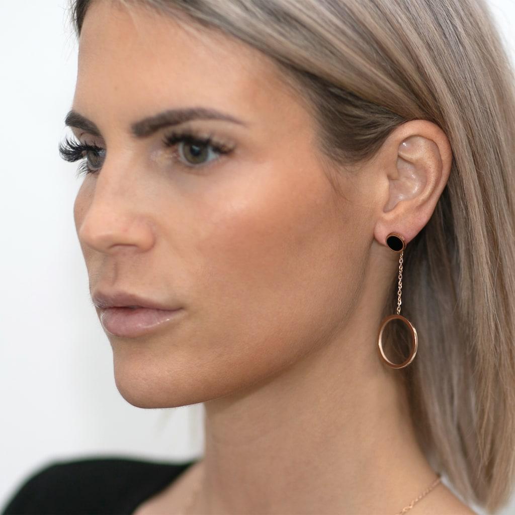 AILORIA Paar Ohrhänger »ARMELLE Ohrringe«, aus glänzendem Edelstahl