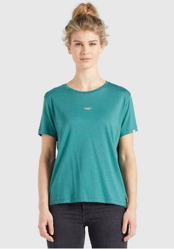 khujo T-Shirt »BANANI«, Rundhals Shirt mit coolen Rückenprint kaufen
