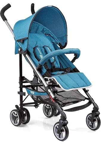 Gesslein Kinder-Buggy »S5 2+4, Petrol Meliert«, mit schwenkbaren Vorderrädern kaufen