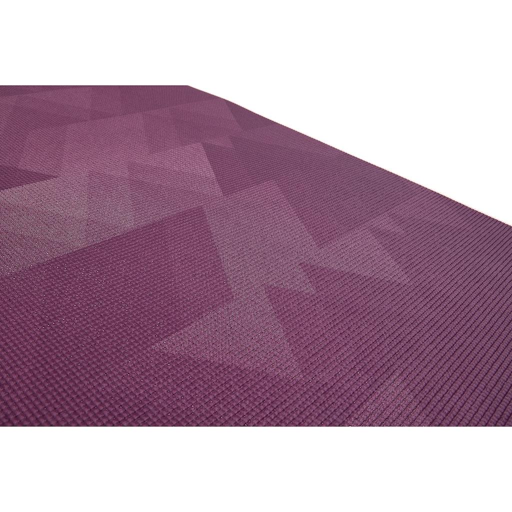 Reebok Yogamatte »Reebok Yogamatte mit geometrischem Muster - beidseitig, rutschfest«