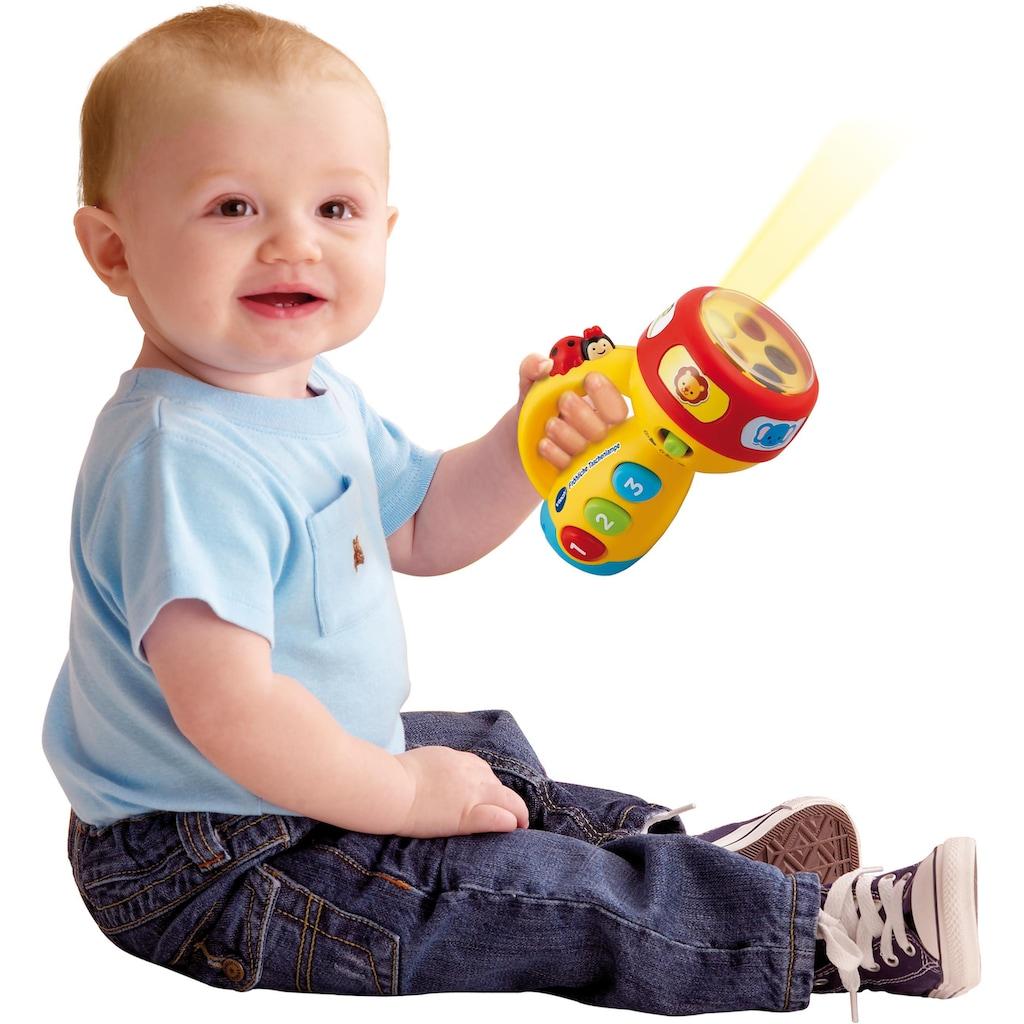 Vtech® Lernspielzeug »Fröhliche Taschenlampe«, mit Licht und Sound