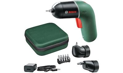 BOSCH Akku-Schrauber »IXO 6 Set«, Volle Kontrolle für sorgloses Arbeiten intuitive... kaufen