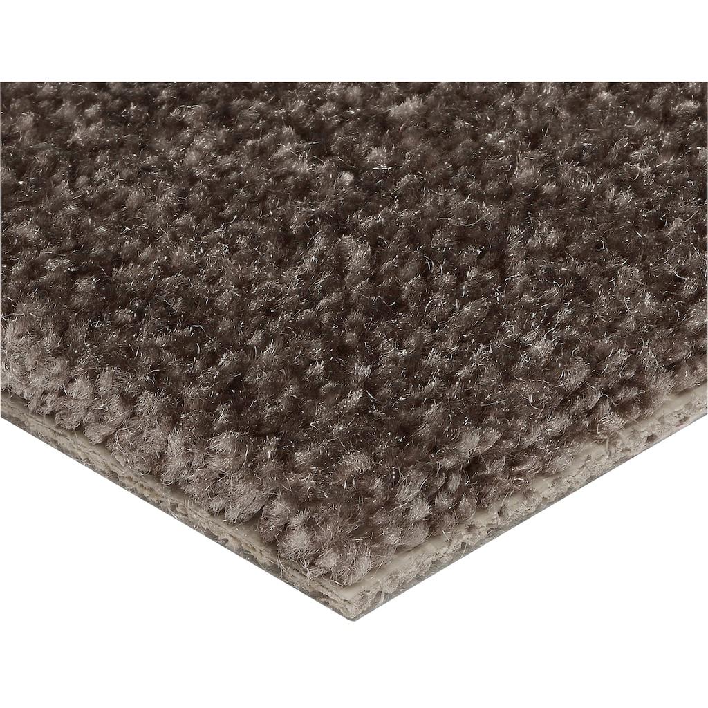 Bodenmeister Teppichboden »Velours gemustert«, rechteckig, 10 mm Höhe, Meterware, Breite 500 cm, uni, Wunschmaß
