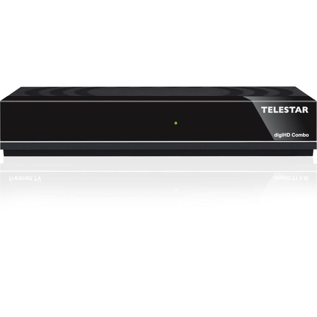 TELESTAR SAT-Receiver »digiHD Combo«, DVB-C/DVB-T2, HDTV, USB, HDMI, Mediaplayer