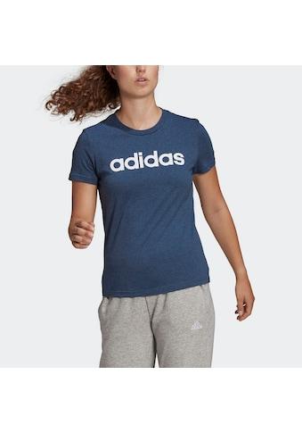adidas Performance T-Shirt »ESSENTIALS SLIM LOGO« kaufen