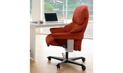Stressless® Relaxsessel »Reno«, mit Home Office Base, Größe M, Gestell Whitewash kaufen