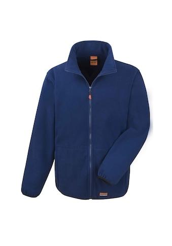 Result Fleecejacke »Work-Guard Herren Heavy Duty Mikro-Fleece Work Jacke« kaufen