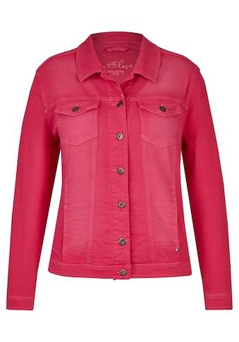 VIA APPIA DUE Modische Jeansjacke mit Knöpfen Plus Size kaufen