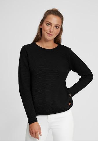 OXMO Strickpullover »Helen«, Pullover in Musterstrick Optik kaufen
