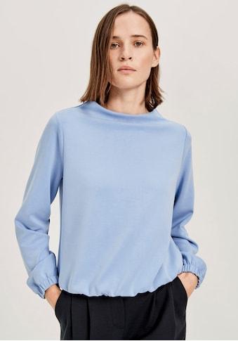 OPUS Sweatshirt »Gabbi«, mit elastischem Saum kaufen
