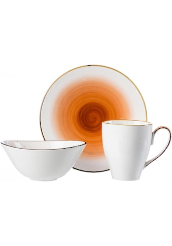Ritzenhoff & Breker Frühstücks-Geschirrset »COSMO«, (Set, 3 tlg.), Mikrowellengeeignet kaufen
