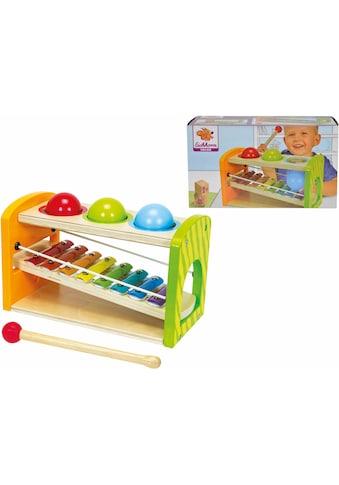 Eichhorn Spielzeug-Musikinstrument »Color, Xylophon Klopfbank«, aus Holz kaufen