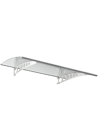 Gutta Pultvordach »PT/ET«, 160x90x22,5 cm, silberfarben - transparent kaufen