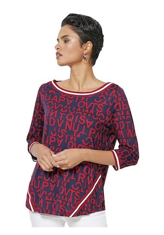 Creation L Shirt mit angesagtem Buchstaben - Druck kaufen