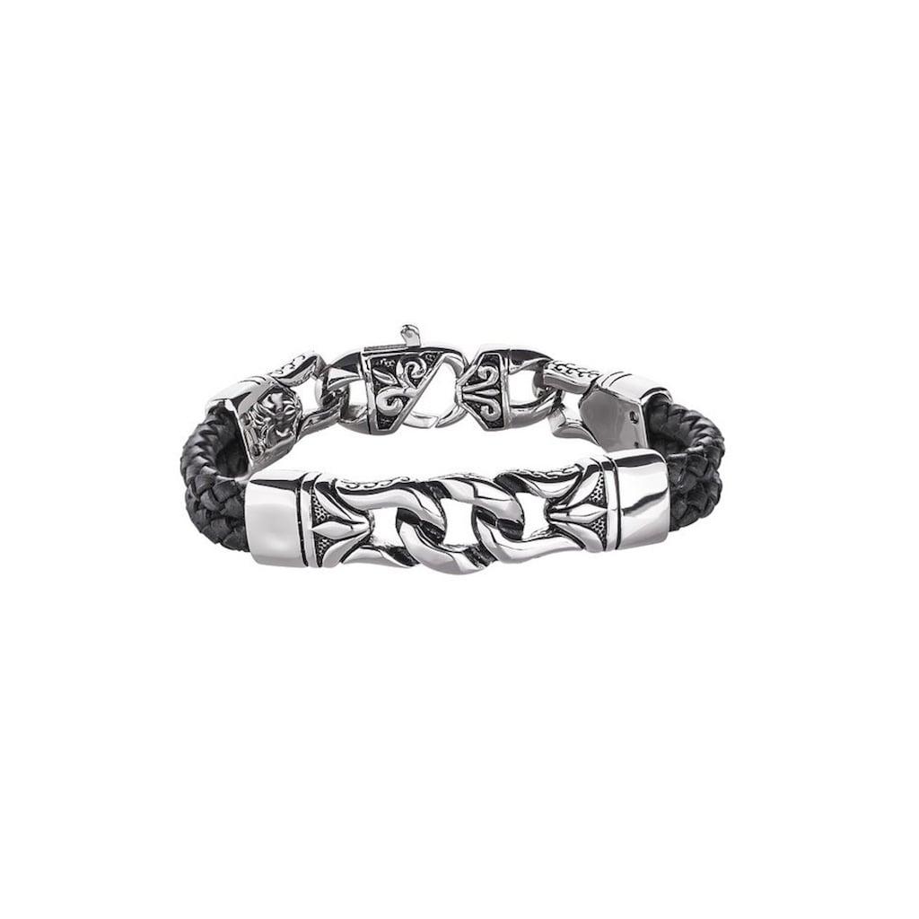 Firetti Armband »strukturiert«