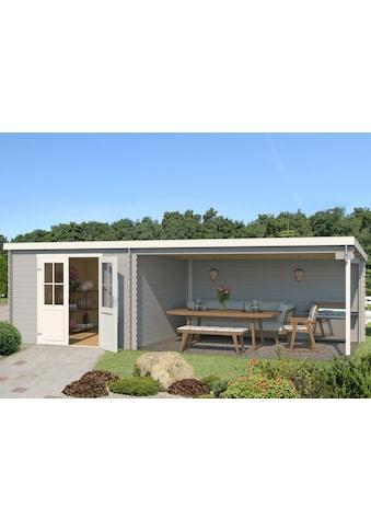 Outdoor Life Products Gartenhaus »St. Louis«, mit Anbau kaufen